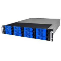 Серверный корпус 2U NR-R2012 2*600Вт 12xHot Swap SAS/SATA (ATX 10x12, 550mm),черный, Negorack